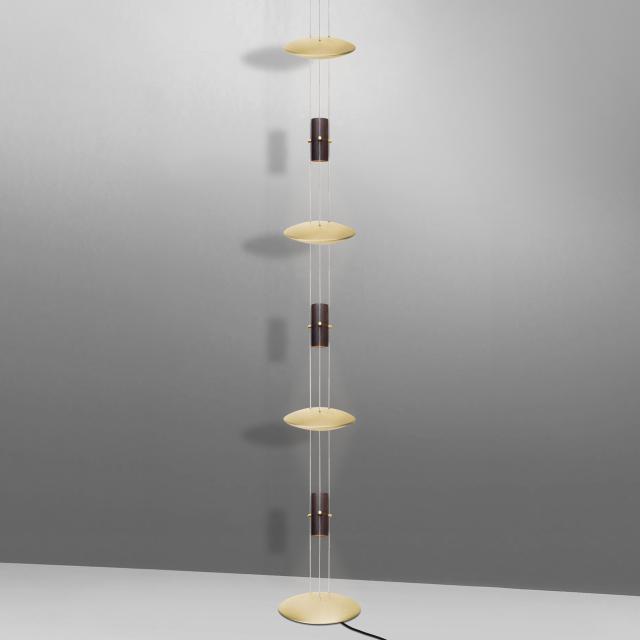 OLIGO BEL-AIR TUBE-L LED Leuchte mit Bodentransformator
