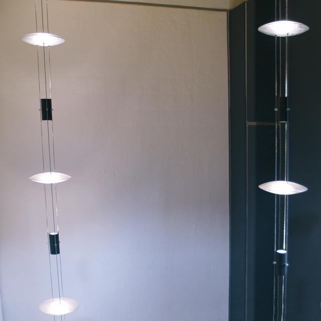 OLIGO BEL-AIR TUBE-L Leuchte mit Deckentransformator