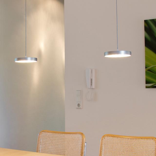 OLIGO DECENT LED Pendelleuchte mit Höhenverstellung und Dimmer, 2-flammig