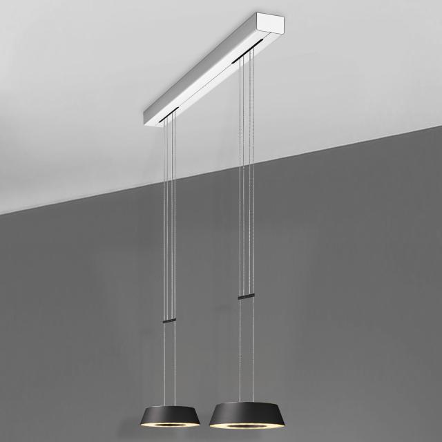 OLIGO  GLANCE LED Pendelleuchte 2-flammig mit Dimmer