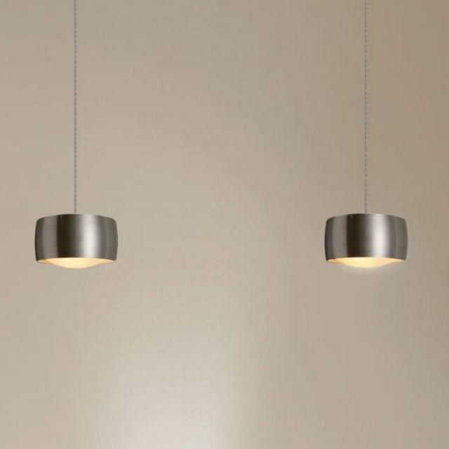 OLIGO GRACE LED Pendelleuchte mit Höhenverstellung und Dimmer, 2-flammig
