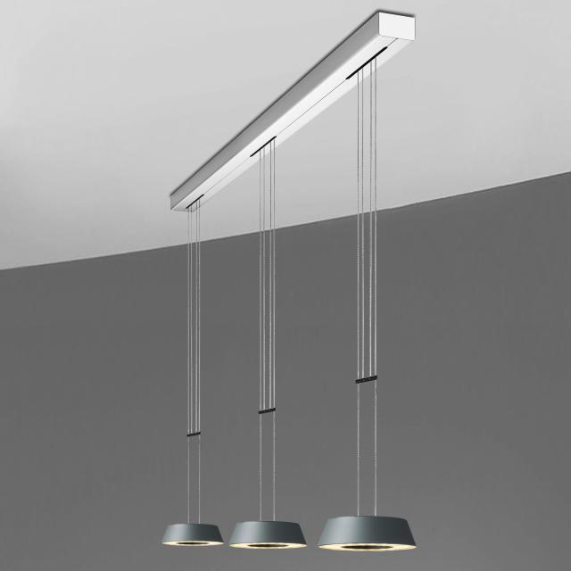 OLIGO  GLANCE LED Pendelleuchte 3-flammig mit Dimmer