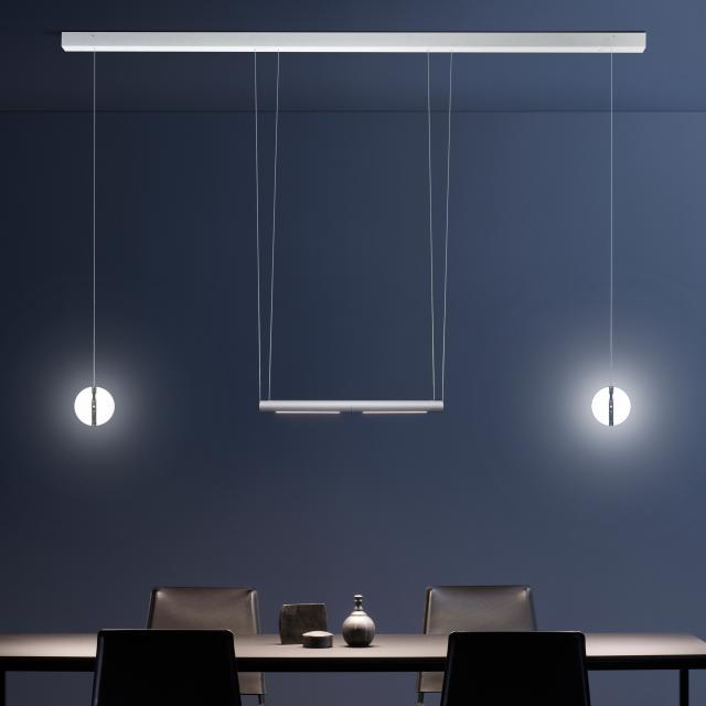 OLIGO SLACK-LINE BREAK-IT NOVA LED Pendelleuchte mit Dimmer, 4-flammig