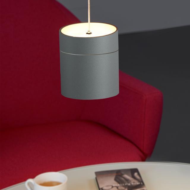 OLIGO TUDOR M LED Pendelleuchte mit Höhenverstellung und Dimmer, 1-flammig