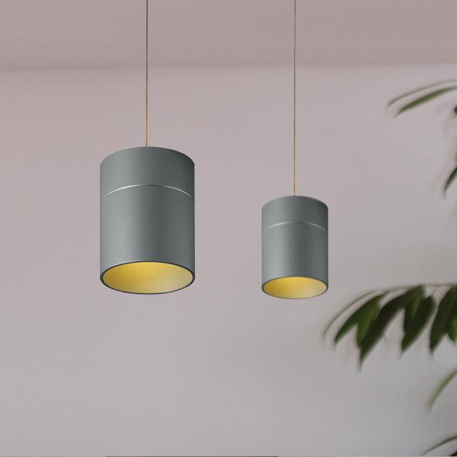 OLIGO TUDOR M LED Pendelleuchte mit Höhenverstellung und Dimmer, 2-flammig
