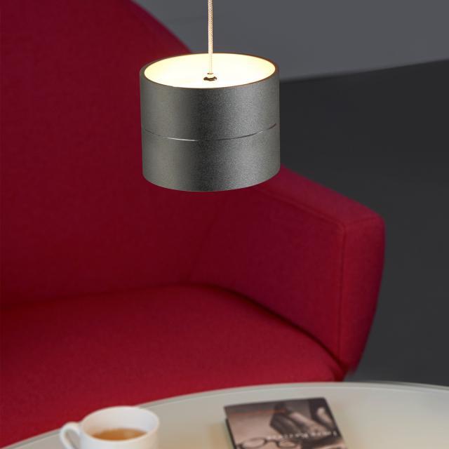 OLIGO TUDOR S LED Pendelleuchte mit Höhenverstellung und Dimmer, 1-flammig