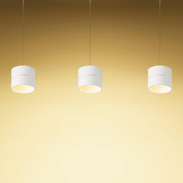 OLIGO TUDOR S LED Pendelleuchte mit Höhenverstellung und Dimmer, 3-flammig