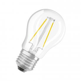 Osram LED Superstar Retrofit Filament Classic P, E27 dimmbar