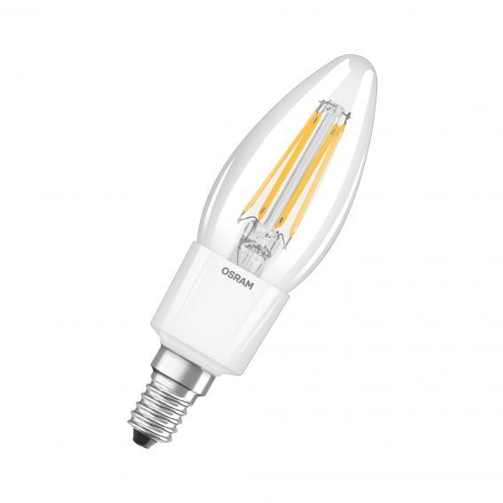 Osram LED Superstar Retrofit Filament Classic B, E14 dimmbar