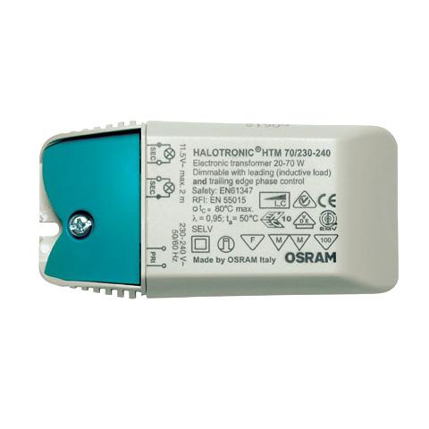 Osram Halotronic Mouse Vorschaltgerät für Halogen-Leuchtmittel 70 Watt