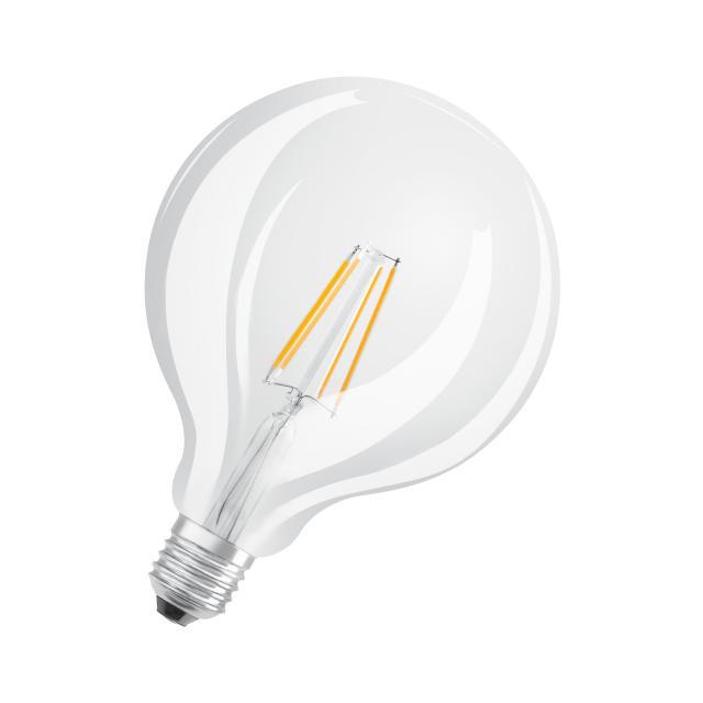 Osram LED Star Plus GLOWdim Retrofit Filament Globe 125, E27 dimmbar
