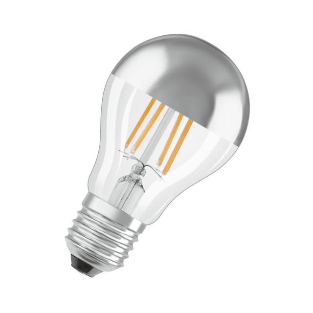 Osram LED Star Retrofit Filament Classic A Mirror Kopfspiegellampe, E27