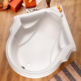 Ottofond Classique Sonderform-Badewanne mit Wannenträger