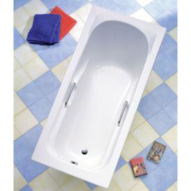 Ottofond Korfu Rechteck Badewanne mit Wannenträger