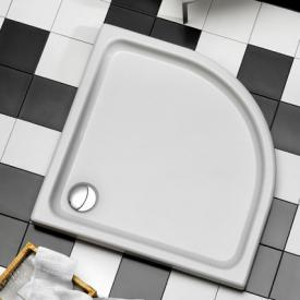Ottofond Kraton Viertelkreis-Duschwanne ohne Wannenträger