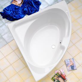 Ottofond Laguna Eck-Badewanne mit Wannenträger