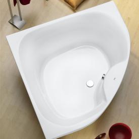 Ottofond Lima Eck-Badewanne mit Wannenträger