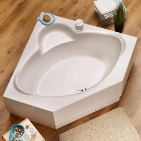 Ottofond Miami Eck-Badewanne ohne Wannenträger, ohne Schürze