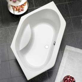 Ottofond Riga Eck-Badewanne mit Wannenträger