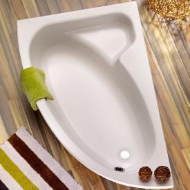 Ottofond Salinas Raumspar-Badewanne mit Verkleidung weiß