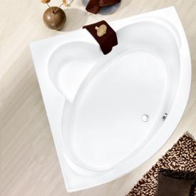 Ottofond Sardinia Eck-Badewanne mit Verkleidung mit Fußgestell und Schürze