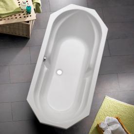 Ottofond Sicilia Achteck Badewanne weiß