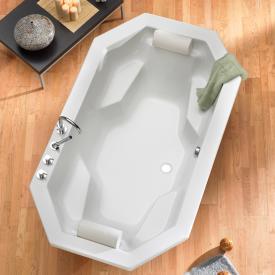 Ottofond Sumatra Achteck Badewanne mit Wannenträger