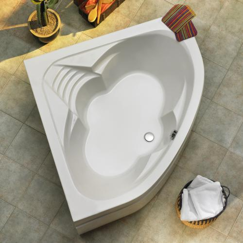 ottofond cascade eck badewanne mit wannentr ger 913001 990142 reuter. Black Bedroom Furniture Sets. Home Design Ideas