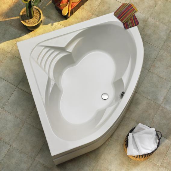 Ottofond Cascade Eck-Badewanne ohne Wannenträger