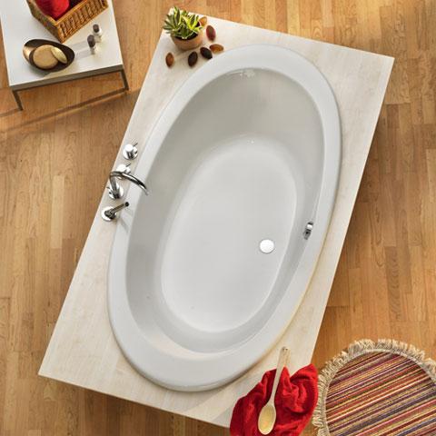 ottofond gomera oval badewanne ohne wannentr ger 935001 reuter. Black Bedroom Furniture Sets. Home Design Ideas