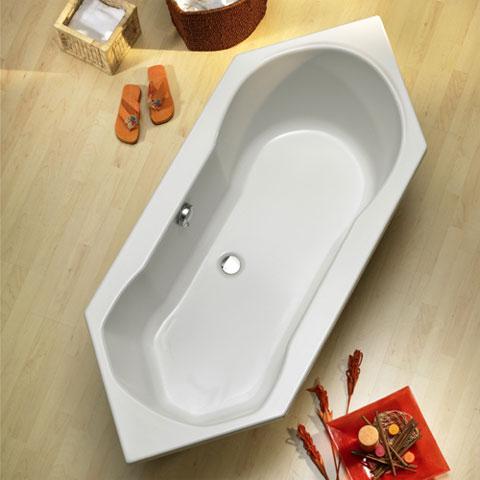 ottofond ravenna sechseck badewanne mit wannentr ger 926001 990118 reuter. Black Bedroom Furniture Sets. Home Design Ideas