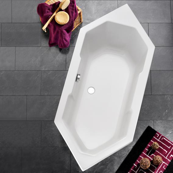 Ottofond Sierra Sechseck-Badewanne mit Wannenträger