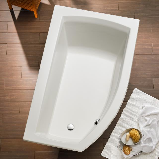 Ottofond Cedros Eck-Badewanne, Einbau Ausführung rechts