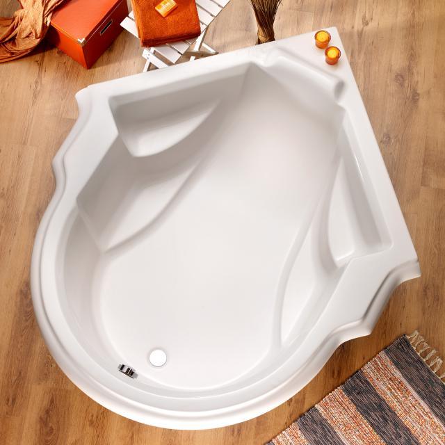 Ottofond Classique Sonderform-Badewanne mit Fußgestell