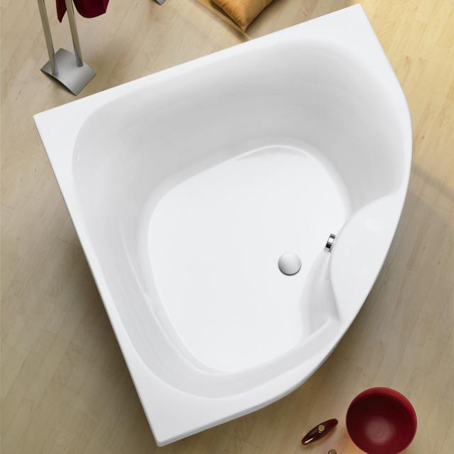 Ottofond Lima Eck-Badewanne, Einbau mit Fußgestell