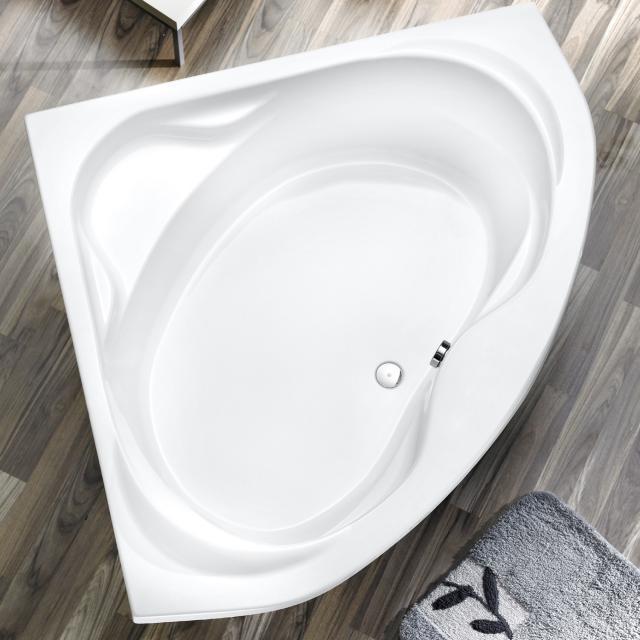 Ottofond Madras Eck-Badewanne, Einbau mit Wannenträger