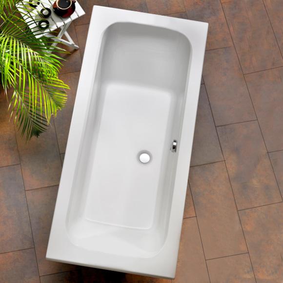 Ottofond Malta Rechteck-Badewanne mit Fußgestell
