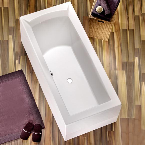 Ottofond Porta Rechteck-Badewanne, Einbau