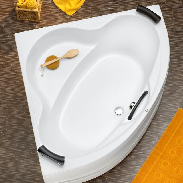 Ottofond Siam Eck-Badewanne, Einbau mit Fußgestell
