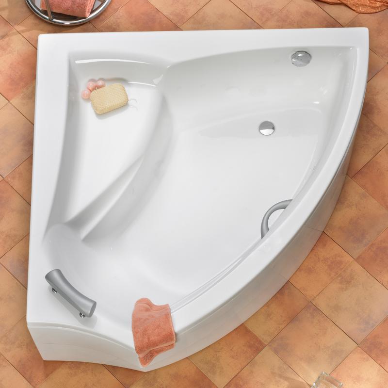ottofond aura eck badewanne ausf hrung links mit wannentr ger 851601 990192 reuter. Black Bedroom Furniture Sets. Home Design Ideas