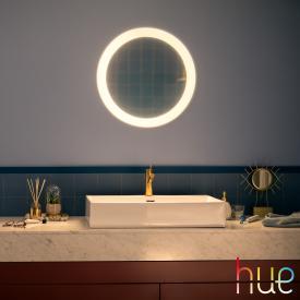 PHILIPS Hue Adore Spiegel mit LED-Beleuchtung und Dimmer