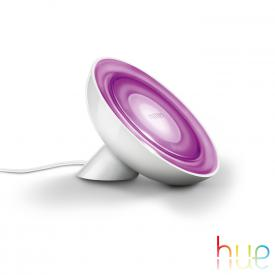 Philips Hue Bloom LED RGB Tischleuchte mit Dimmer