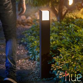 Philips Hue Fuzo LED Pollerleuchte