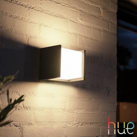 Philips Hue Fuzo LED Wandleuchte, quadratisch
