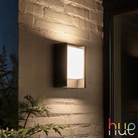 Philips Hue Fuzo LED Wandleuchte, länglich