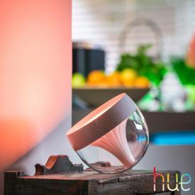 Philips Hue Iris LED RGB Tischleuchte mit Dimmer