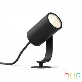 Philips Hue Lily LED Spot/Bodenleuchte, Basis Set