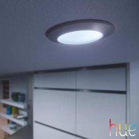 Philips Hue Phoenix LED Deckenleuchte/Einbauspot mit Dimmer