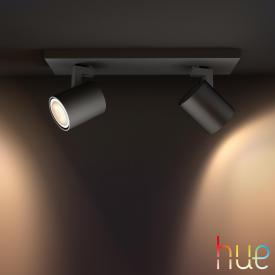 Philips Hue Runner Deckenspot 2-flammig mit Dimmer