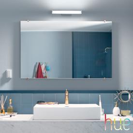 Philips Hue White ambiance Adore LED Spiegelleuchte/Wandleuchte mit Dimmer